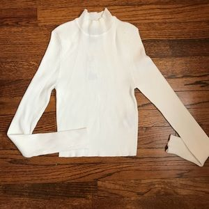 Forever 21 cream turtle neck - size M